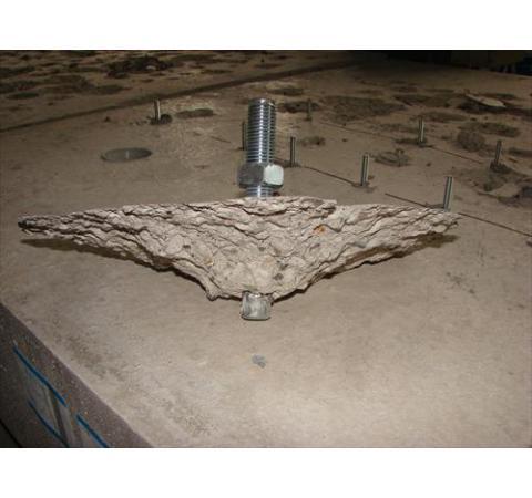 Installation des ancrages mecaniques